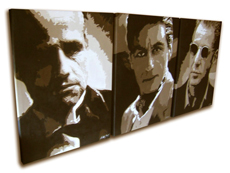 Godfather Painting - POP ART - size 18&quot; x 24&quot; (x3)