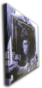 "Scarface Painting 02 - POP ART - size 30"" x 24"""