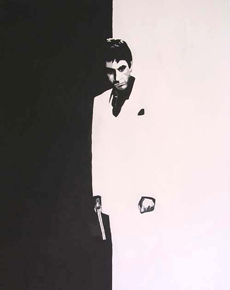 Scarface Painting 07 - POP ART - size 24&quot; x 30&quot;